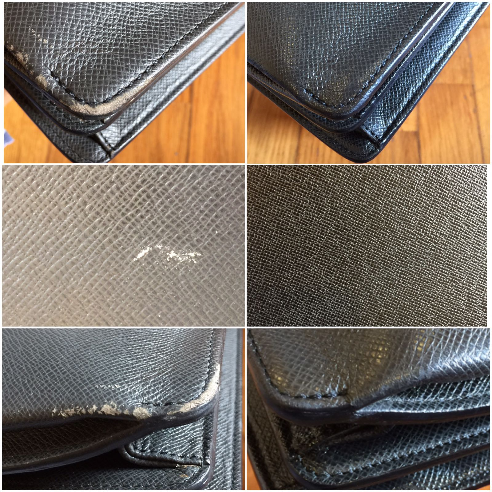 Leather Edge Restoration