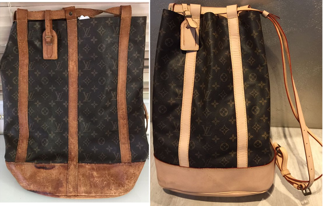 LV leather replacement