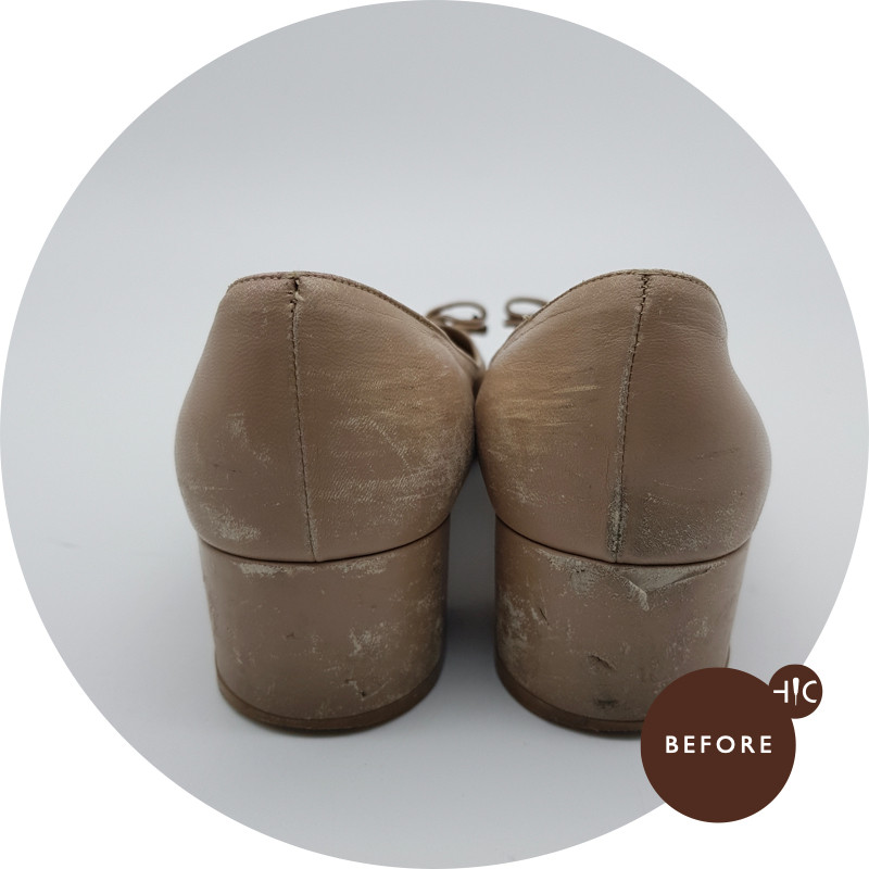 Ferragamo Heels Colour Restoration