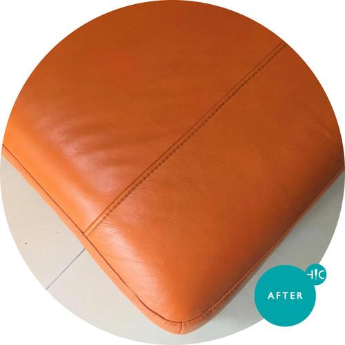 Orange Sofa Deep Clean