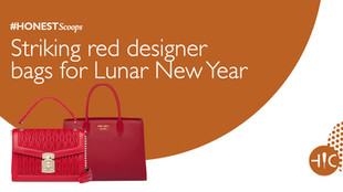 Striking red designer bags for the Lunar New Year
