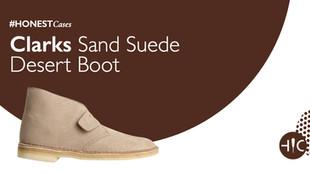 Case Study - Clarks Sand Suede Desert Boot