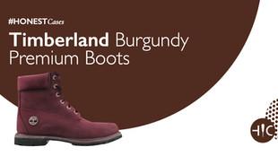 Case Study - Timberland Burgundy Premium Boots
