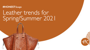 Leather trends for Spring/Summer 2021