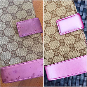 Gucci Wallet Colour Touch Up