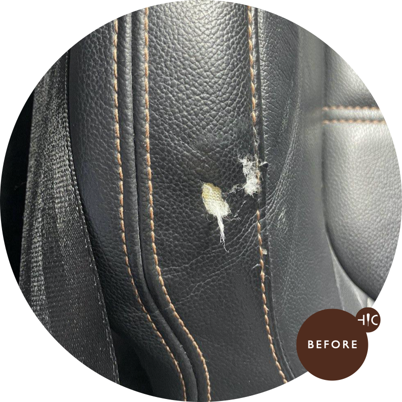 Honda Stream RSZ Leather Seat Restoration
