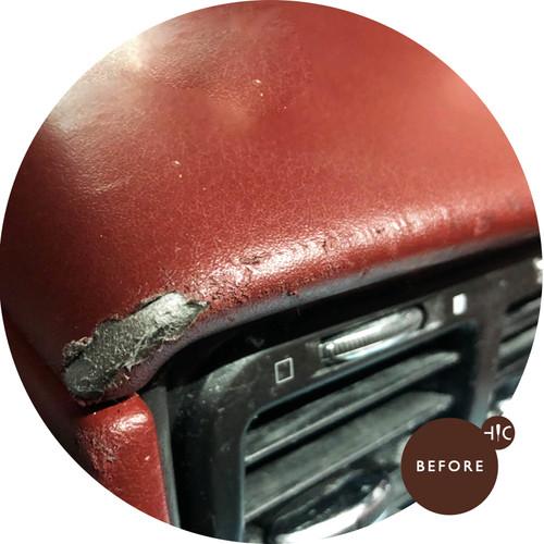 Maserati Gran Turismo Leather Patch Up