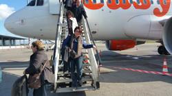 La section euro en voyage