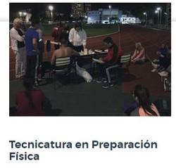 TECNICATURA EN PREPARACIÓN FÍSICA