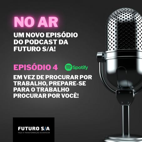 O 4⁰ episódio do nosso podcast está no ar!