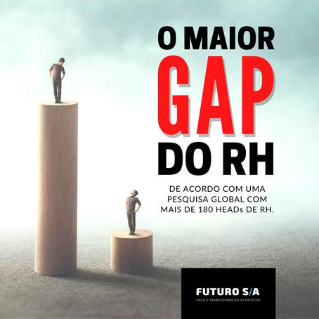 Conheça o maior gap do RH (de acordo com o próprio RH)