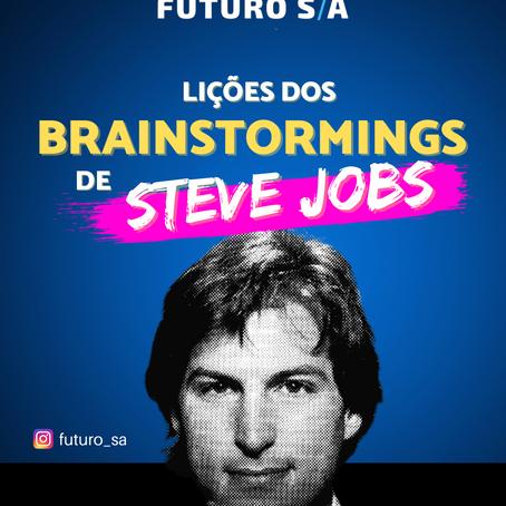 Lições dos 'brainstormings' de Steve Jobs