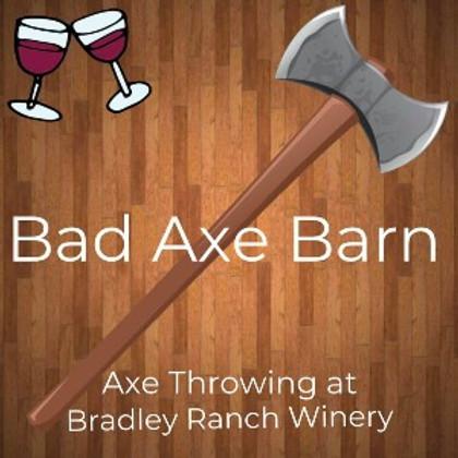 Outdoor Axe Throwing at BRW! - 2021