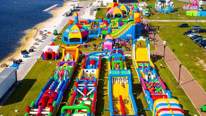 The Worlds Biggest Bounce House - Coming to Bradley Ranch in 2021!