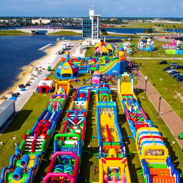 The Worlds Biggest Bounce House - Coming to Bradley Ranch in 2022!