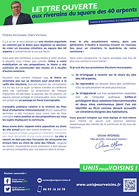 Lettre Ouverte Le Cimetière Unis pour Voisins municipales voisins le bretonneux