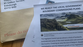 Boundary Petition Delivered