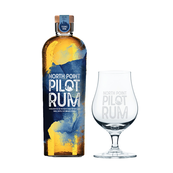 North Point Pilot Rum with FREE glass