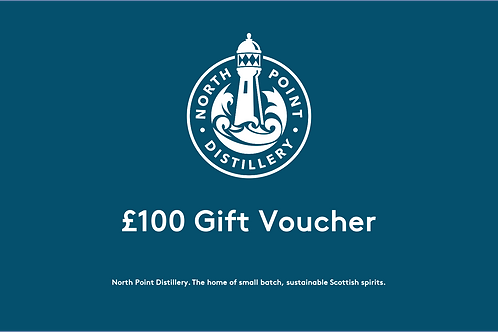 £100 North Point Distillery Gift Voucher