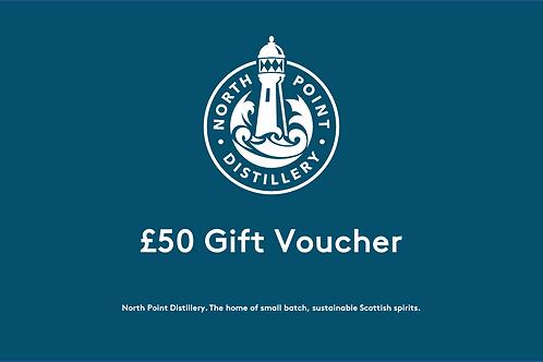 £50 North Point Distillery Gift Voucher