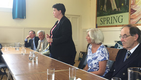Ruth Davidson MSP Visits Highland