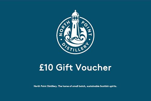£10 North Point Distillery Gift Voucher