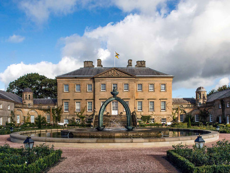 Cllr Mackie attends COSLA convention at Dumfries House