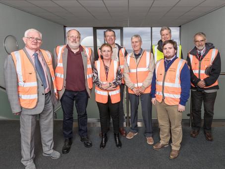 Councillor Mackie visits Dounreay