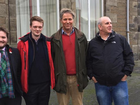Highland Councillors attend health rallies across Caithness