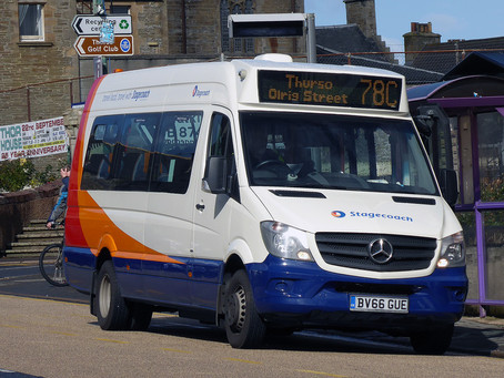 Cllr Mackie welcomes Stagecoach minibus investment