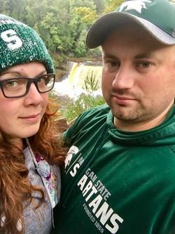 Amanda and Darrell Taquamenon Falls