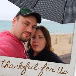Amanda and Darrell Lake Michigan- Mackin