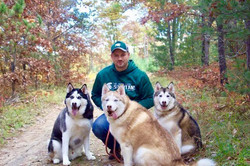Darrell and Pups Up North