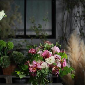 お花の定期販売