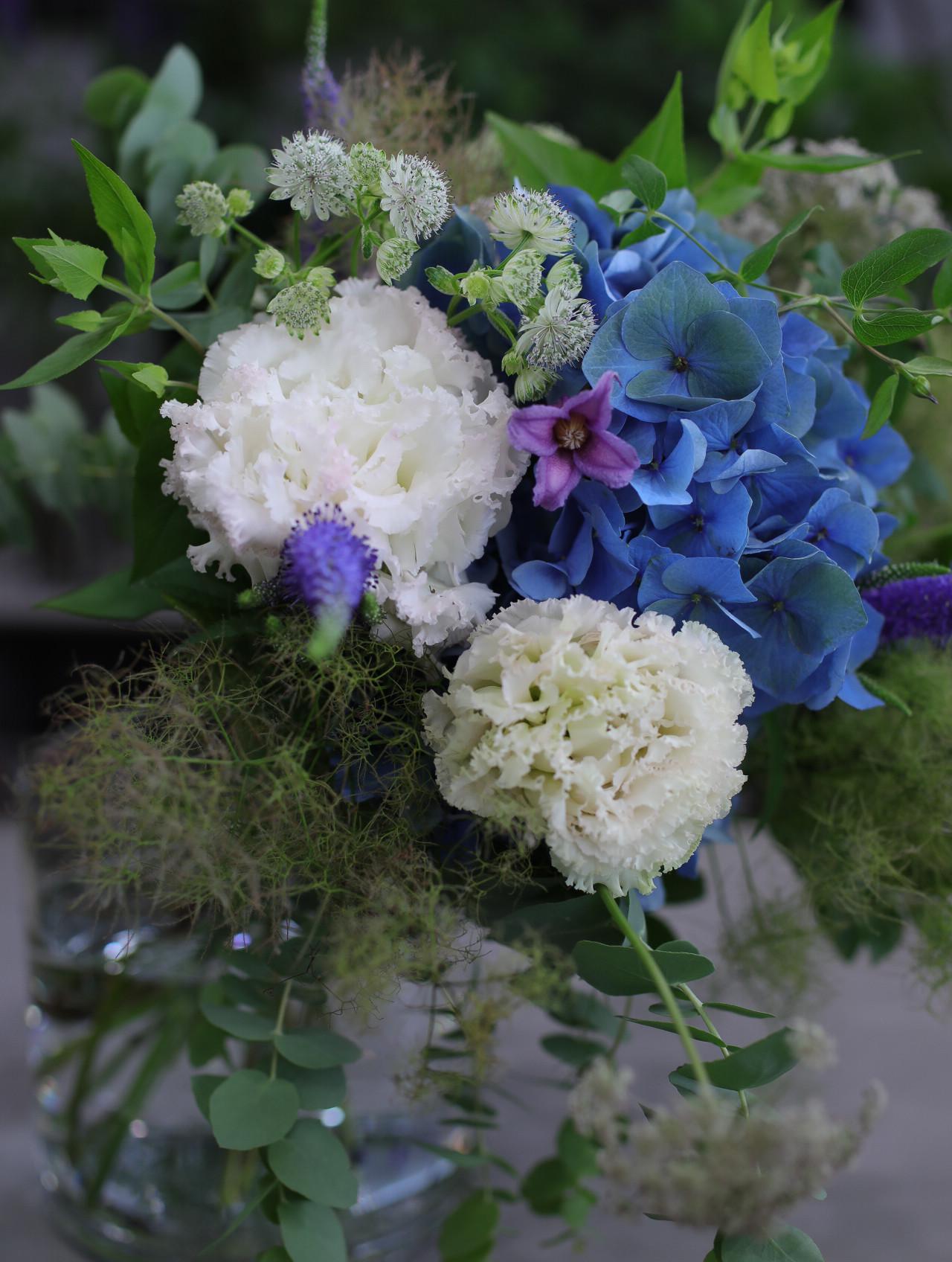 juin bouquet style