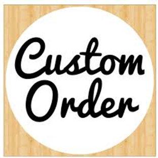 Custom Order for Tumblers