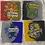 Thumbnail: Hogwarts Houses Coasters