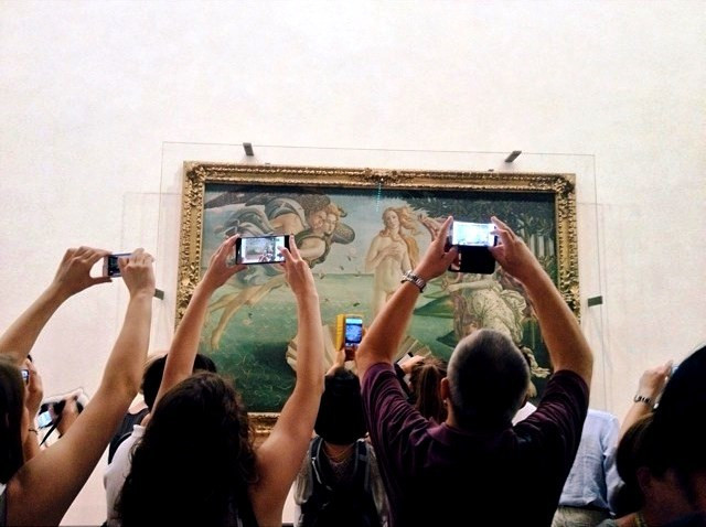 uffizi-tourists
