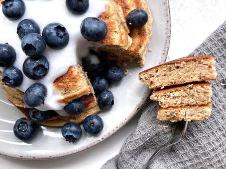 Almond Flour Chia Seed Pancakes