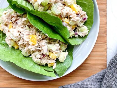 6-Ingredient Protein-Packed Tuna Salad