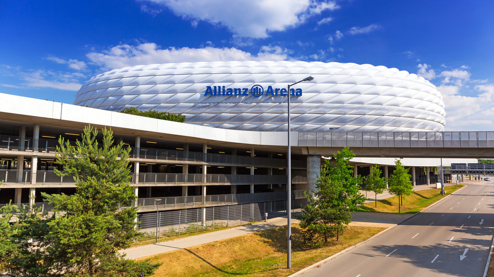 Система вентиляции Wolter на стадионе AllianzArena (Мюнхен, Германия).