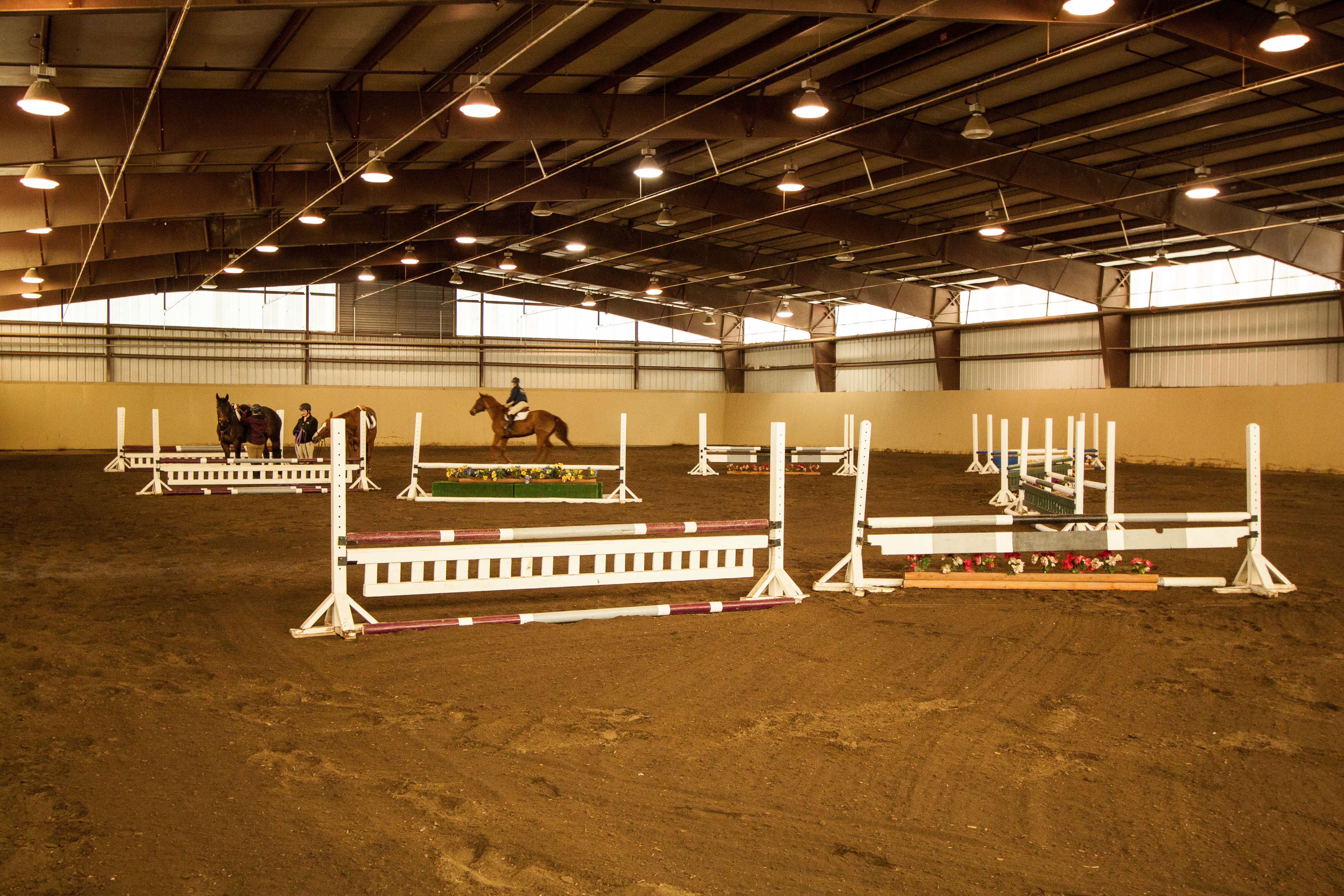 Large and Bright Indoor Arena