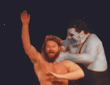 Zombie Andre The Giant Terrorizes Villag