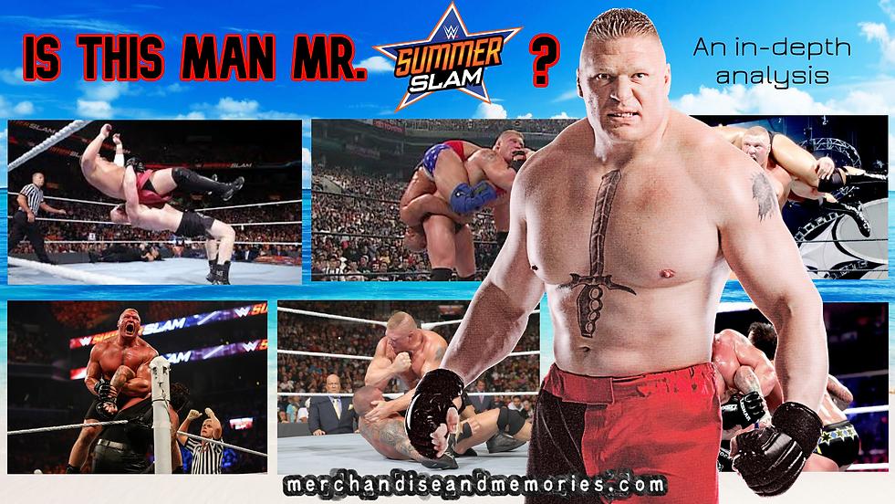 Is this man Mr SummerSlam_