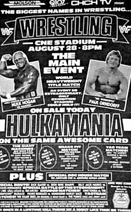 Remembering Wrestling Hulkamania Night