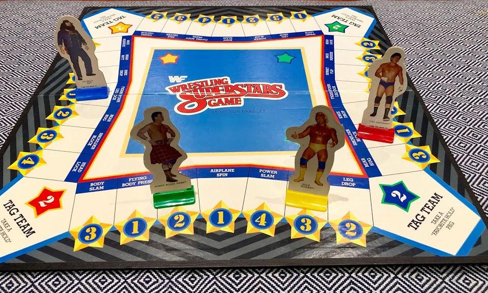 WWF Wrestling Superstars Game