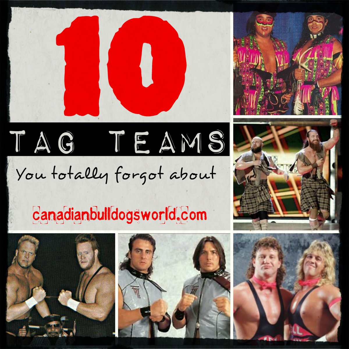 10 Tag Teams You Totally Forgot About