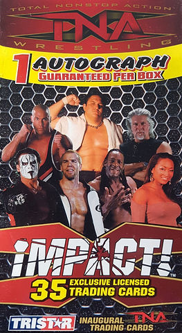 TNA TriStar trading cards