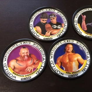 Remember The WWF? It's Back - In Pog Form!