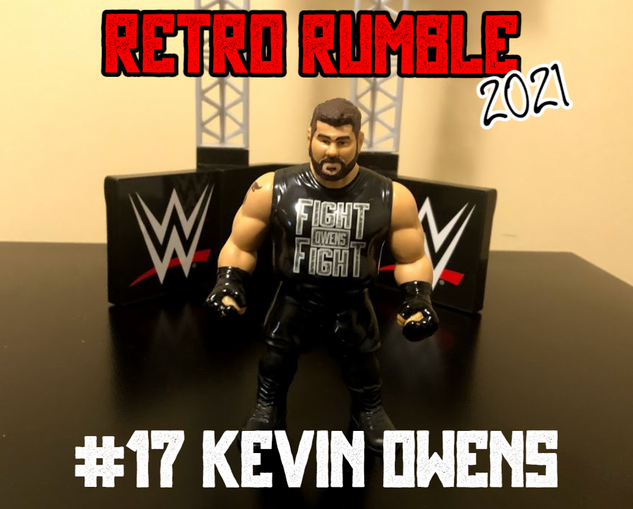 Kevin Owens is here! And he's wearing his Fight Owens Fight reissue shirt instead of the KO duct tape one. Things are about to get interesting!